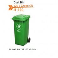 Dust Bin 120 L Green CN