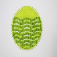 "Urinal Screen Fragrance "" Super Lime - Dark Green"""
